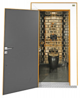 TOI® DeLuxe black WC
