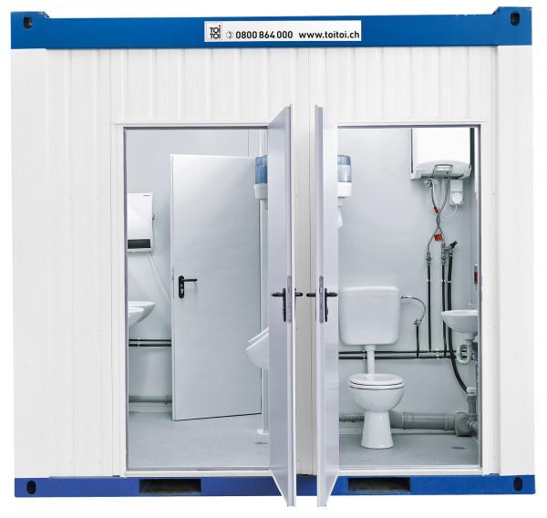 TOI® WC-Container Cubus Bau
