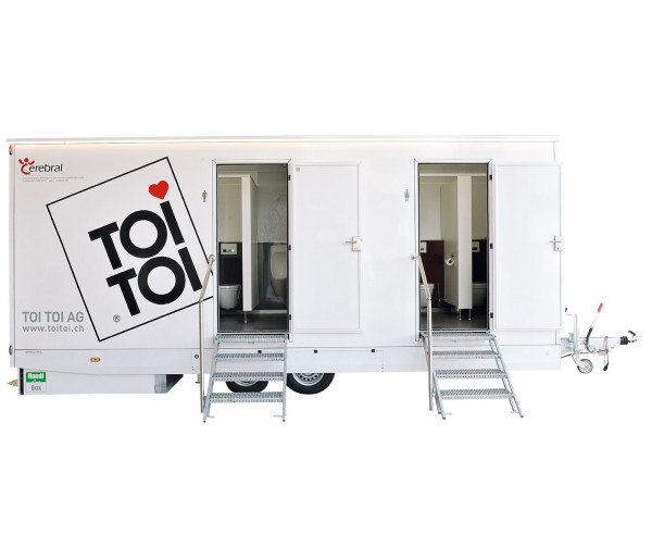 TOI® WC-Trailer VIP Cerebral